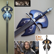 Strider Ranger Sword With Plaque - Lord Of The Rings